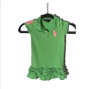 Ralph Lauren kids short sleeve polo top